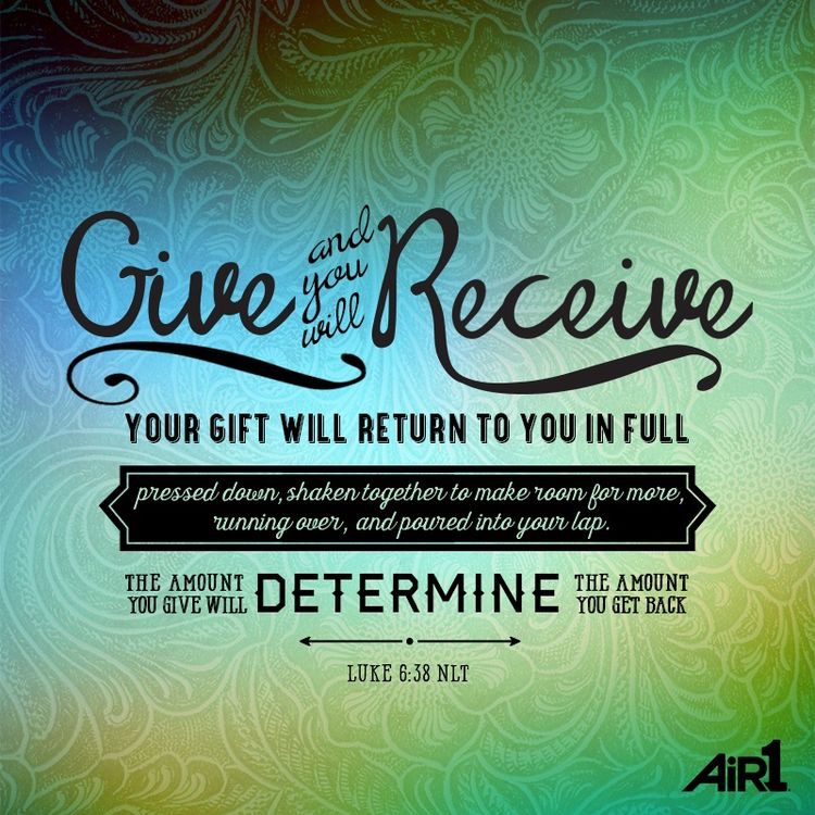 Luke 6:38, Charity and Gratitude – Lily And The Twins
